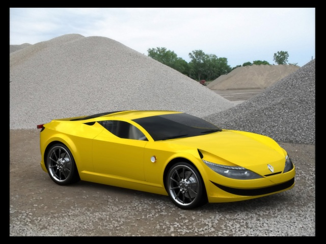 2009-renault-new-alpine-concept-design-by-marcello-felipe-yellow-front-and-side-1024x768