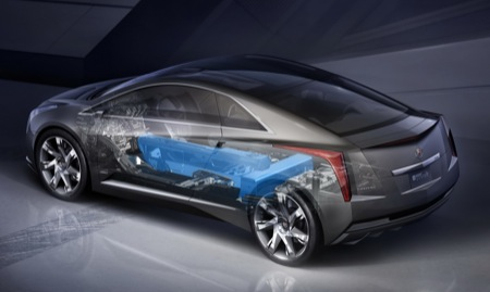 2009 Cadillac Converj Concept Computer Generated Image